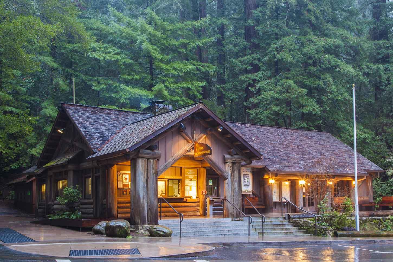 Big Basin park headquarters Big Basin Redwoods State Park & Big Basin Redwoods State Park