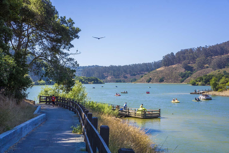 Anthony chabot and lake chabot regional parks for Lake chabot fishing