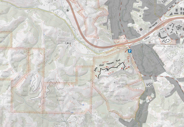 John Muir National Historic Site Mount Wanda