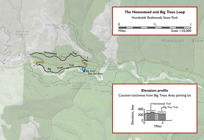 The Homestead and Big Tree Loop