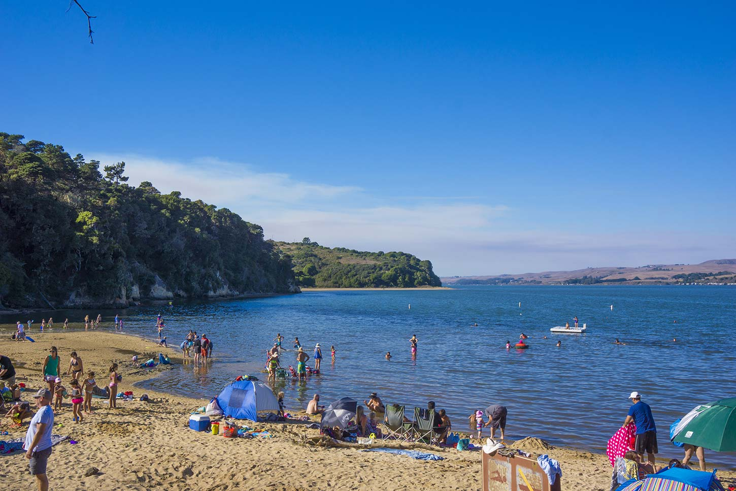 Heart S Desire Beach In Tomales Bay State Park Is The Most Crowded On Point Reyes